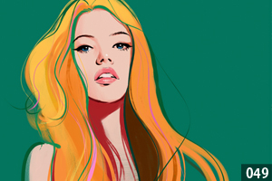 illustman-049_color woman