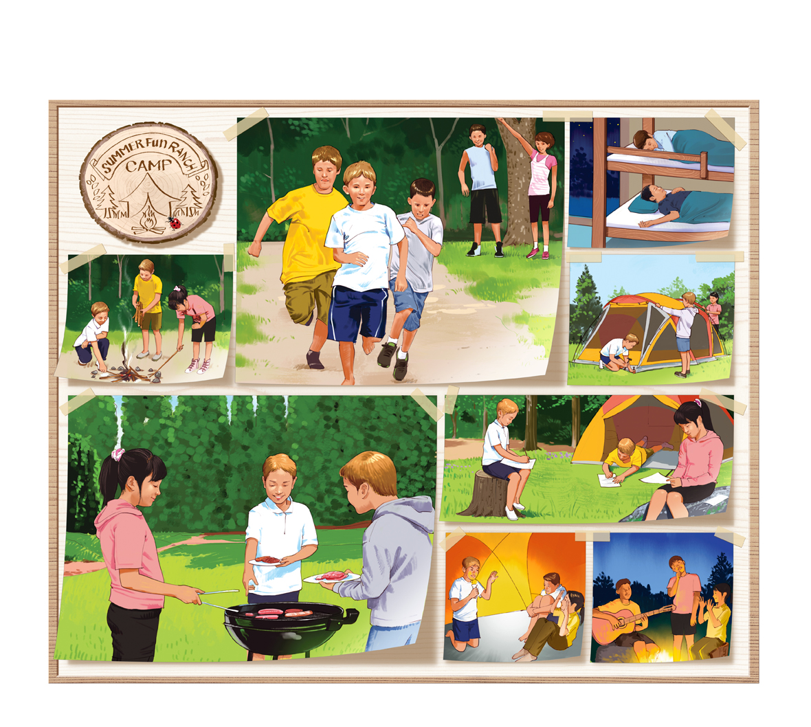 illustman-061_Summer Camp