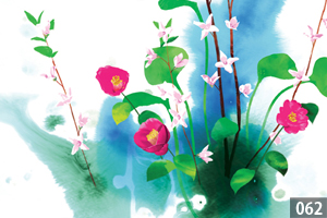 illustman-062_Watercolor Flowers
