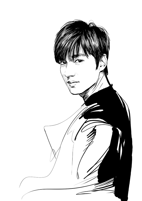 illustman-095_South Korea actor – Lee minho, Yoon a, Jeon jihyun