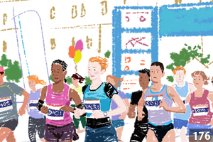 illustman-172_Asics Ad illustration