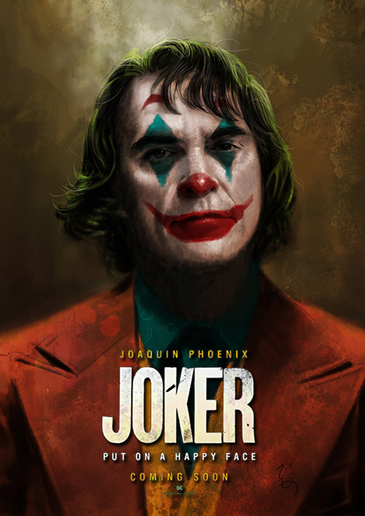 Illustman 203 Joker Joker 2019 Drawing Joker 2019 Joker Trailer Joaquin Phoenix Movie Movie Poster Illustman Com